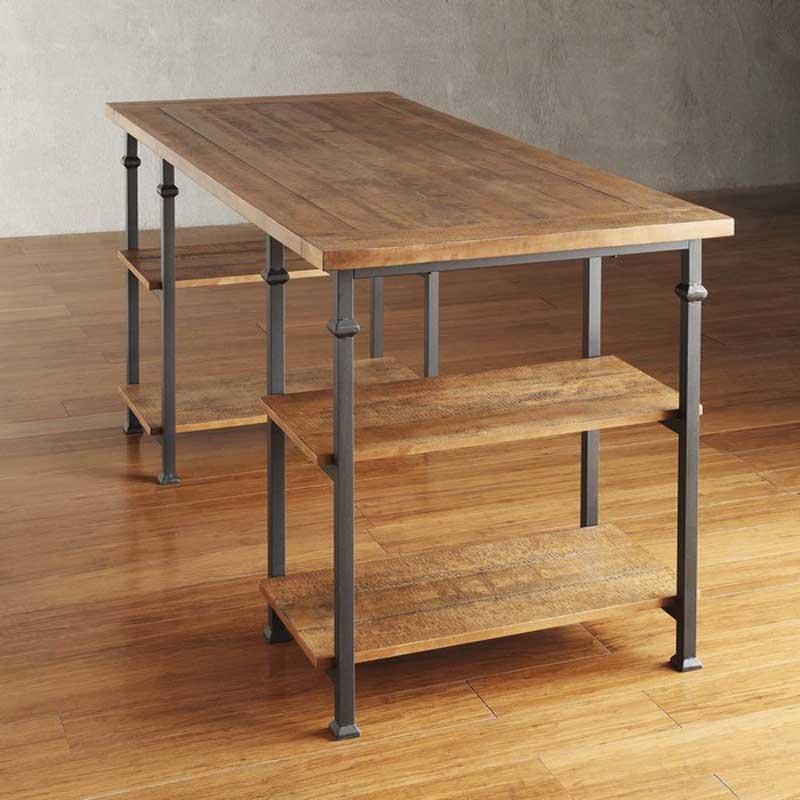 書桌 辦公桌 Fl 紐約loft工業風多層架書桌 Full Living 滿屋生活 美式日系平價家具購物